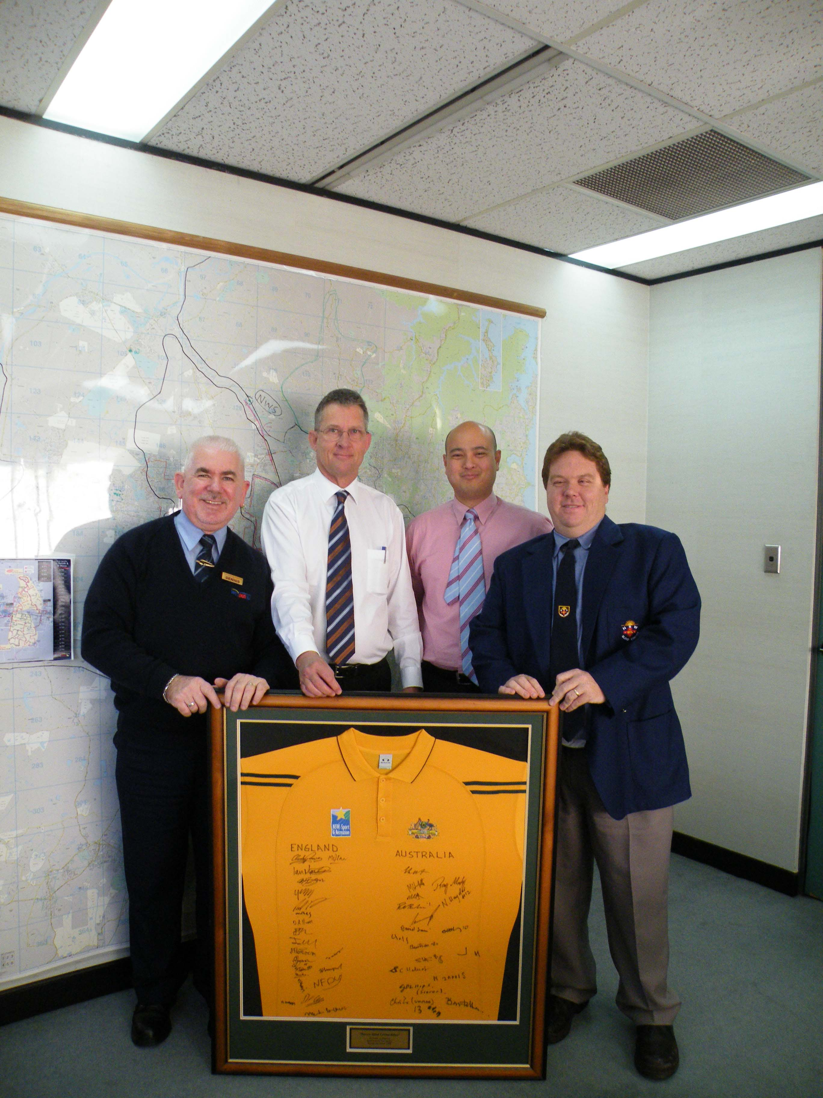 Westbus Presentation for Blind Cricket Ashes